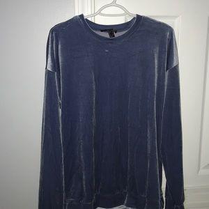 Forever 21 Velvet shirt